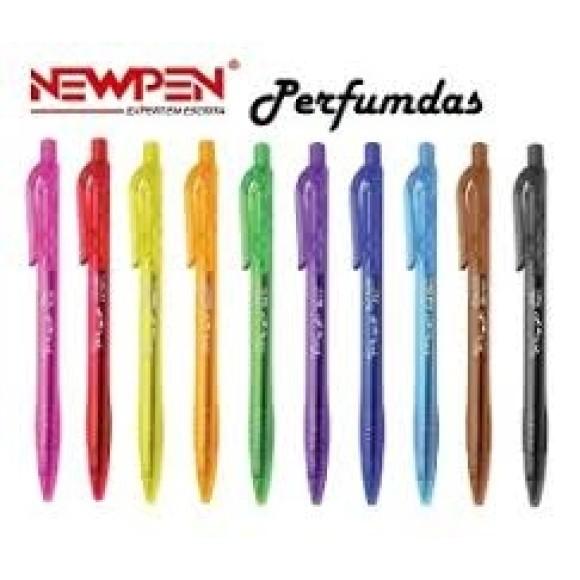 Caneta clic perfuma C/50 ref 01823 newpen