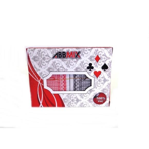 Baralho plastico c/6 gubly-0789 0790  bar-69087  bj3806