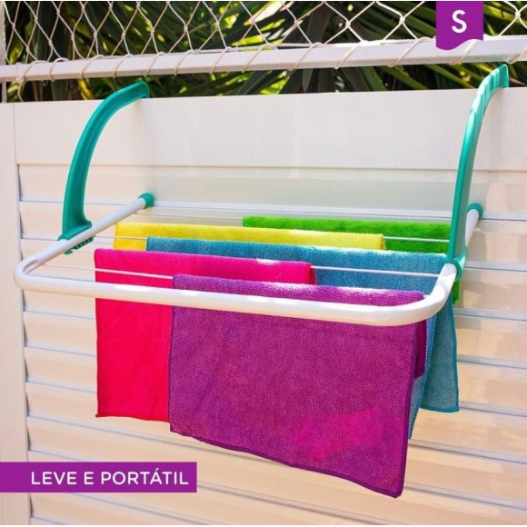 Varal Portatil click aço 52X35cm 151040