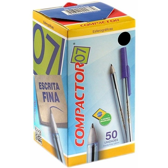 Caneta compactor 0,7 C/50
